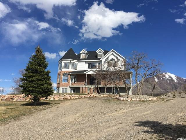 10929 S Loafer Canyon Rd, Salem, UT 84653 (#1664669) :: The Fields Team