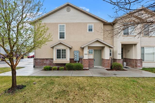 703 Buckingham Dr, North Salt Lake, UT 84054 (#1664862) :: Bustos Real Estate | Keller Williams Utah Realtors