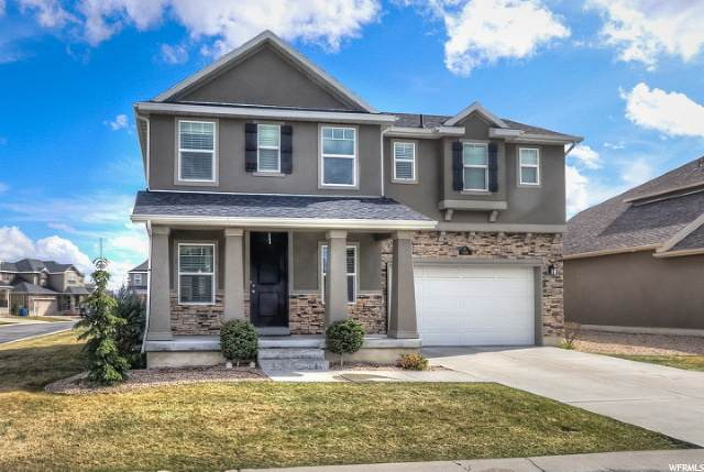 826 W Churchhill Downs Dr S, Kaysville, UT 84037 (#1664967) :: REALTY ONE GROUP ARETE