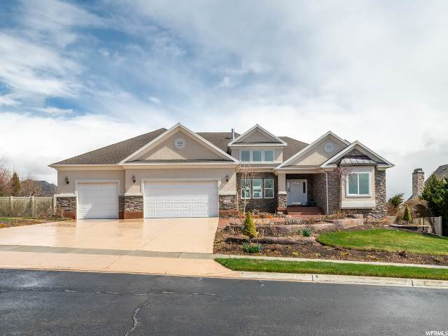 11488 N Flowering Plum Ln, Highland, UT 84003 (#1665274) :: Big Key Real Estate
