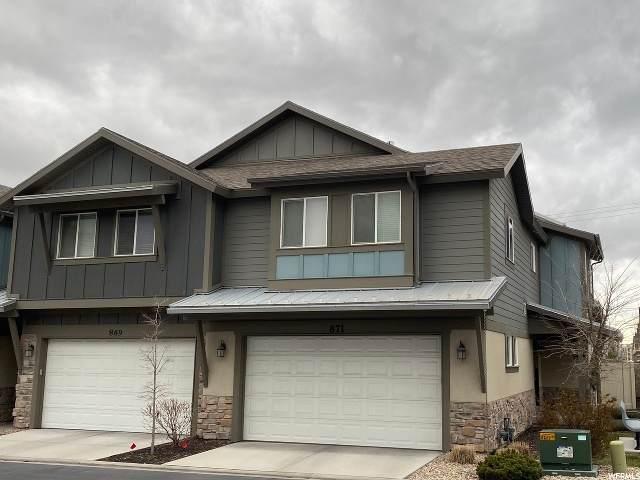 871 W Cannara Way S, Midvale, UT 84047 (#1665318) :: Bustos Real Estate | Keller Williams Utah Realtors