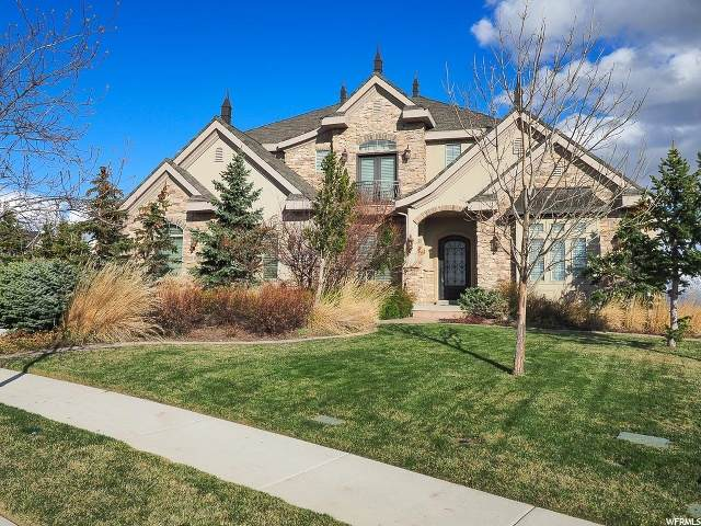 1487 W Morning View Way S, Lehi, UT 84043 (#1665474) :: Big Key Real Estate