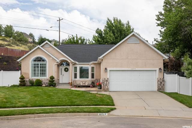 1675 E Hidden Valley Club Cir, Sandy, UT 84092 (#1665743) :: Bustos Real Estate | Keller Williams Utah Realtors