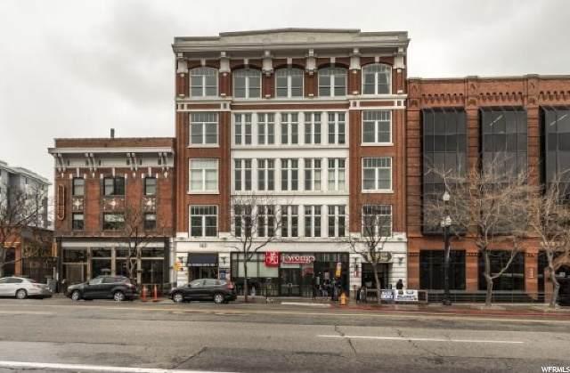 163 W 200 S #206, Salt Lake City, UT 84101 (#1665989) :: Colemere Realty Associates