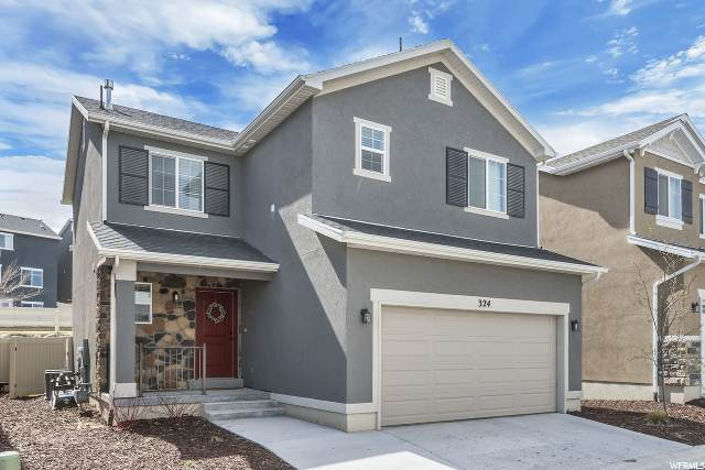 324 W Willow Creek Dr S, Saratoga Springs, UT 84045 (#1666040) :: The Fields Team