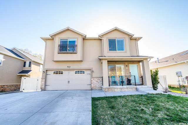 943 S 1830 E, Spanish Fork, UT 84660 (#1666447) :: Big Key Real Estate