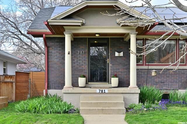 781 E Kensington Ave S, Salt Lake City, UT 84105 (MLS #1666673) :: Lawson Real Estate Team - Engel & Völkers