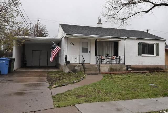 785 Hillcrest Ave, Logan, UT 84321 (#1668188) :: Red Sign Team