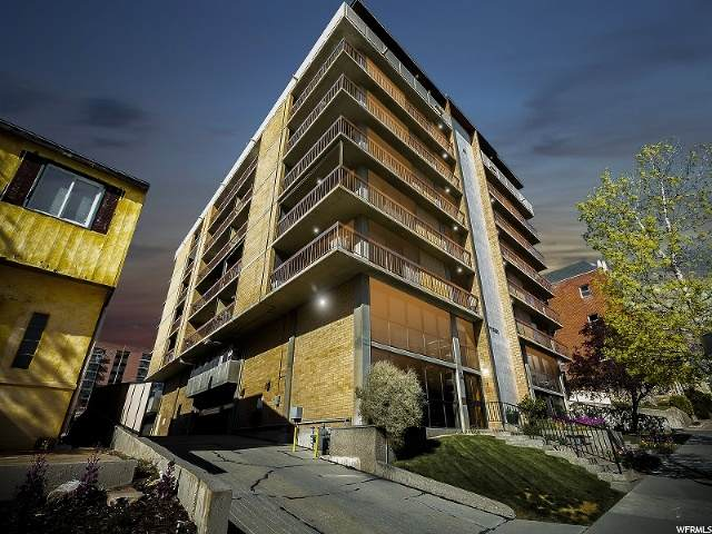 131 E First Ave #706, Salt Lake City, UT 84103 (#1668951) :: Doxey Real Estate Group