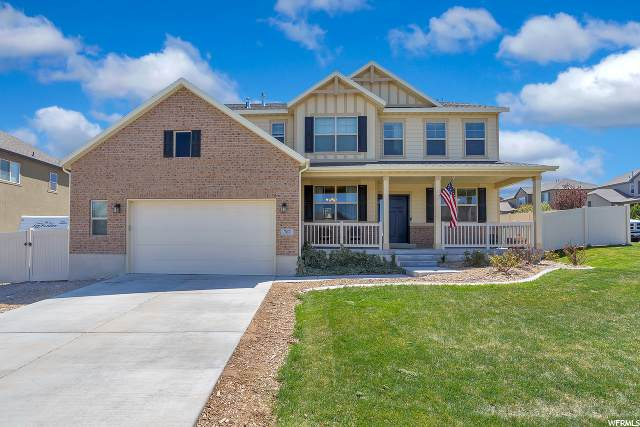 767 W Cedar Bench Way, Saratoga Springs, UT 84045 (MLS #1670914) :: Lookout Real Estate Group