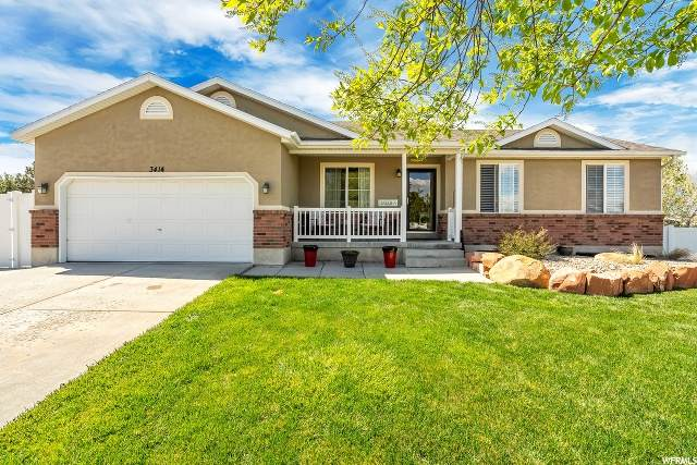 3414 S Hunter Dell Pl, West Valley City, UT 84128 (#1671191) :: Colemere Realty Associates