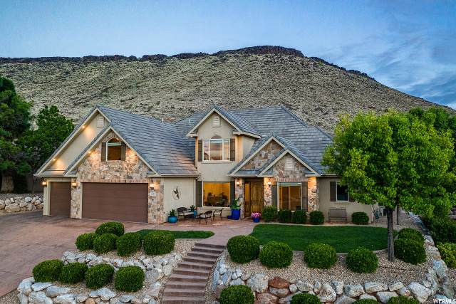 1133 W Shadow Point Dr, St. George, UT 84770 (#1671547) :: Exit Realty Success