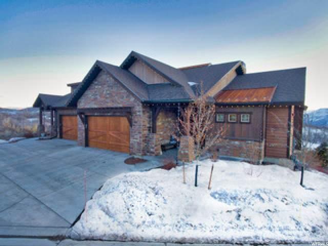 1652 E Longview Dr, Hideout, UT 84036 (MLS #1671962) :: High Country Properties