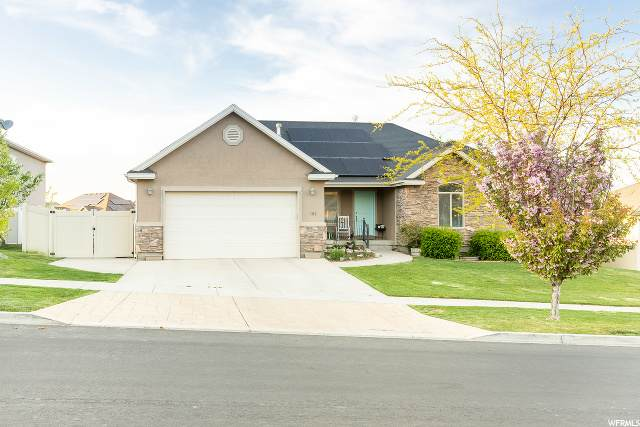 152 W Fox Hollow, Saratoga Springs, UT 84045 (MLS #1672229) :: Lookout Real Estate Group
