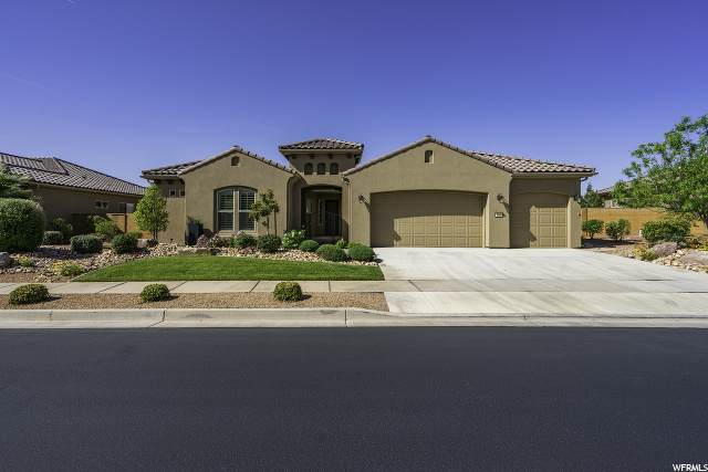 4860 S Horizon View Dr, St. George, UT 84790 (#1673193) :: Red Sign Team