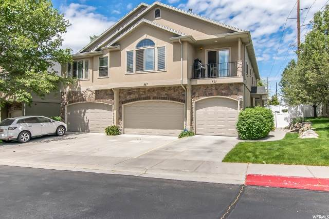 891 E Red Sage Ln, Murray, UT 84107 (#1674981) :: Colemere Realty Associates