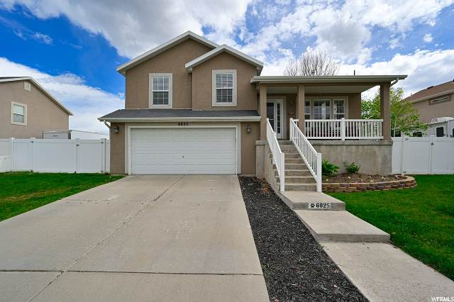 6825 W Hunter Valley Dr S, West Valley City, UT 84128 (#1676025) :: Bustos Real Estate | Keller Williams Utah Realtors