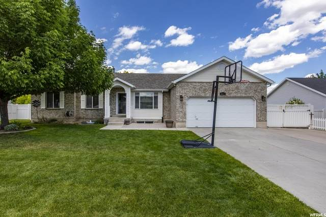 5112 W Mountain Hill Dr, West Jordan, UT 84081 (#1676292) :: Powder Mountain Realty