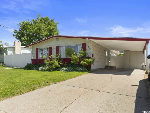 189 W 1125 N, Sunset, UT 84015 (#1677255) :: Bustos Real Estate | Keller Williams Utah Realtors