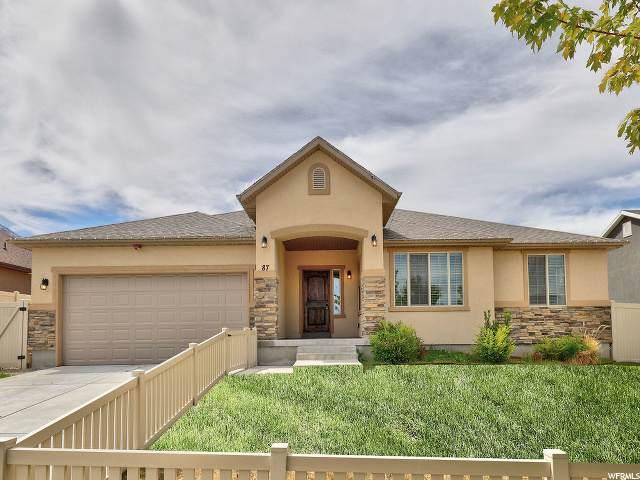 87 W Sky Hawk Way, Elk Ridge, UT 84651 (MLS #1677300) :: Lookout Real Estate Group