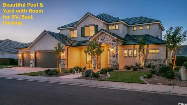 332 W Blue Quartz Dr S, Washington, UT 84780 (#1677366) :: Doxey Real Estate Group
