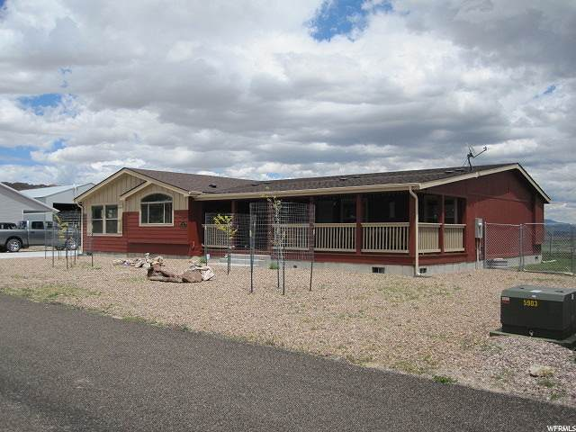87 E Ridge Ln, Manila, UT 84046 (#1677596) :: Big Key Real Estate