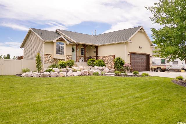 3761 W Canal Dr N, West Point, UT 84015 (#1677662) :: The Fields Team