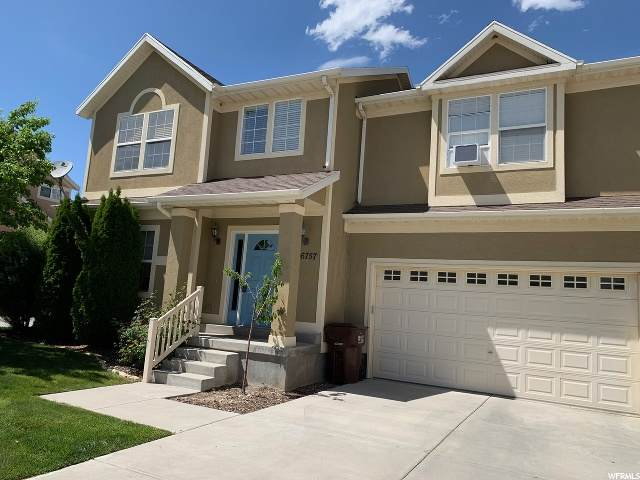 6757 W Bottlebrush Ln, West Jordan, UT 84081 (#1677952) :: Powder Mountain Realty