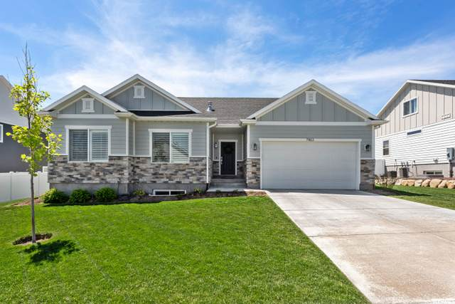 7463 W Hawthorn Leaf Dr, Herriman, UT 84096 (#1678840) :: REALTY ONE GROUP ARETE