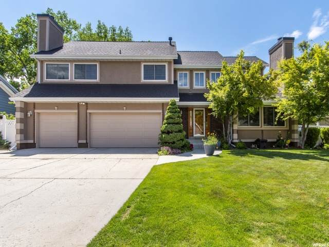 8828 S Shady Meadow Dr E, Sandy, UT 84093 (#1679265) :: goBE Realty