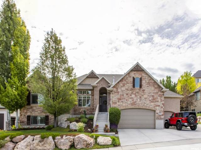 577 S Ridge Top Ln E, North Salt Lake, UT 84054 (#1679267) :: Utah City Living Real Estate Group