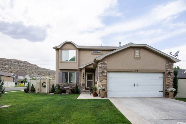58 W Lake View Terrace Rd, Saratoga Springs, UT 84045 (#1679490) :: goBE Realty