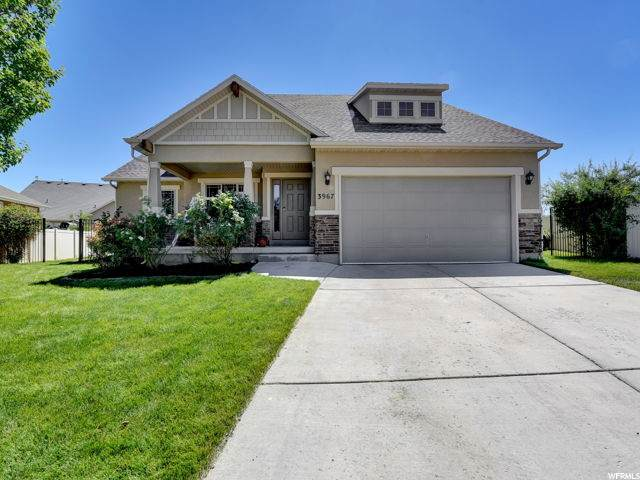 3967 W Copper Sea Cv S, South Jordan, UT 84009 (#1683341) :: The Perry Group