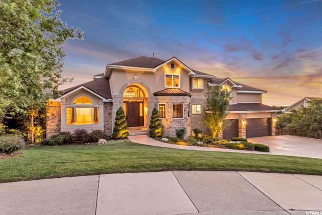 10076 S Stonewall Ct E, Sandy, UT 84092 (#1683810) :: Bustos Real Estate   Keller Williams Utah Realtors