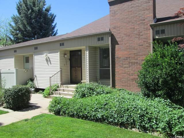 4539 S 1800 W #107, Roy, UT 84067 (#1684682) :: Big Key Real Estate