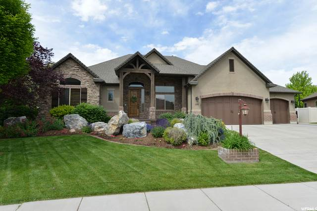 160 N Vista View Dr, Kaysville, UT 84037 (#1685088) :: REALTY ONE GROUP ARETE
