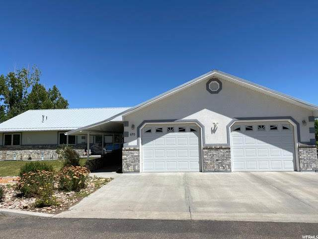 670 N 3000 W, Vernal, UT 84078 (#1685203) :: Big Key Real Estate