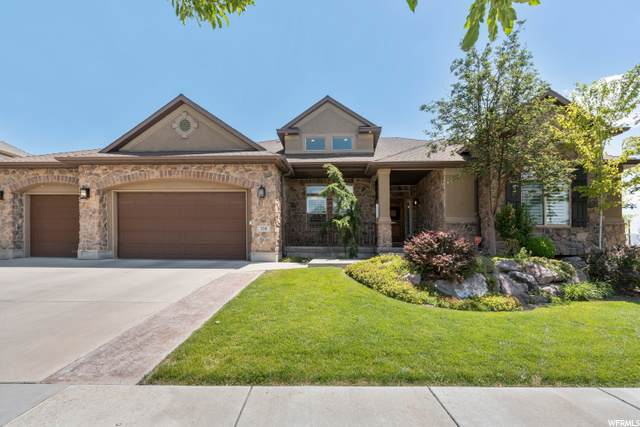 338 E Cherry Crest Dr S, Draper, UT 84020 (#1685365) :: Red Sign Team