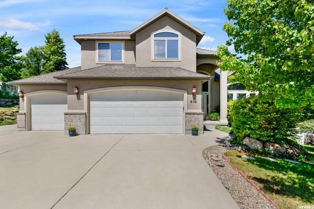 676 E Rocky Knoll Ln, Draper, UT 84020 (#1685550) :: Big Key Real Estate