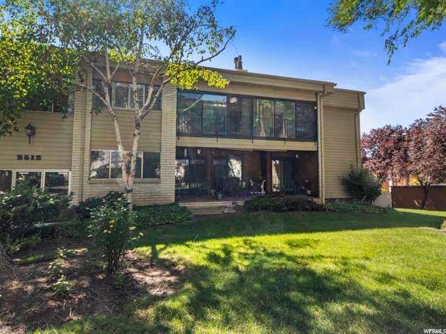 2512 S Elizabeth St E #4, Salt Lake City, UT 84106 (#1686310) :: Big Key Real Estate