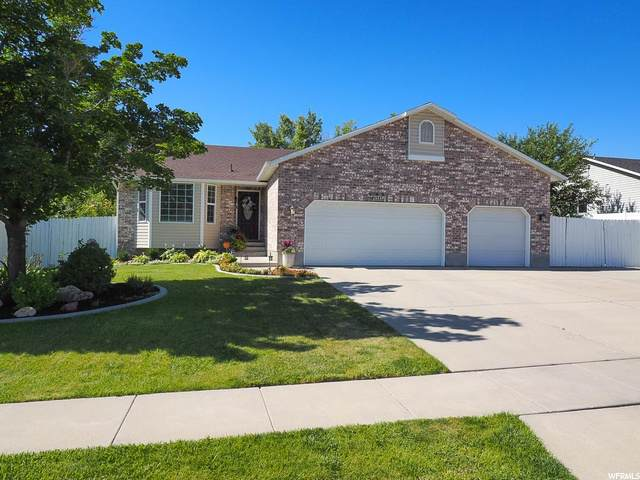 1323 W Barton Hollow Dr, West Jordan, UT 84084 (#1686550) :: Gurr Real Estate