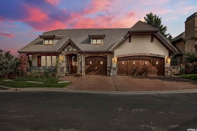 3281 E Falcon Heights Ln S, Cottonwood Heights, UT 84093 (#1686769) :: Colemere Realty Associates