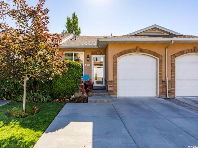 9468 S Hidden Point Dr. W, Sandy, UT 84070 (#1687600) :: Gurr Real Estate