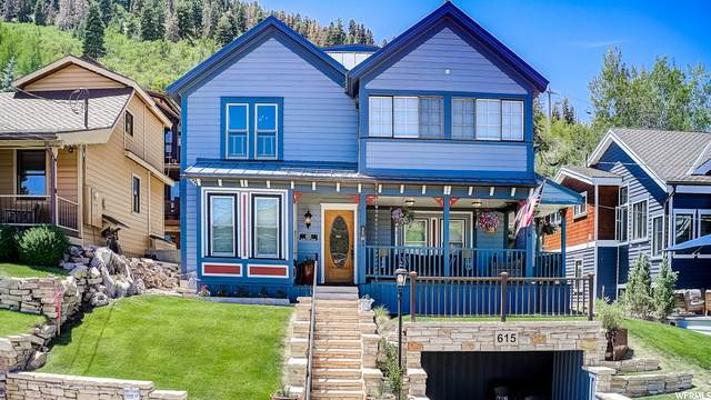 615 Woodside Ave, Park City, UT 84060 (#1688683) :: Doxey Real Estate Group