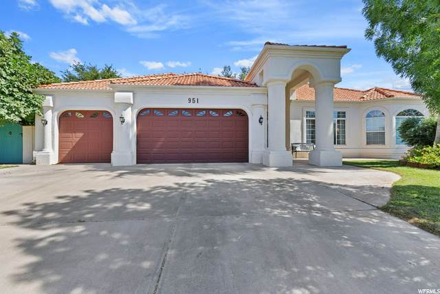 951 St James Ln, St. George, UT 84790 (#1690101) :: Red Sign Team