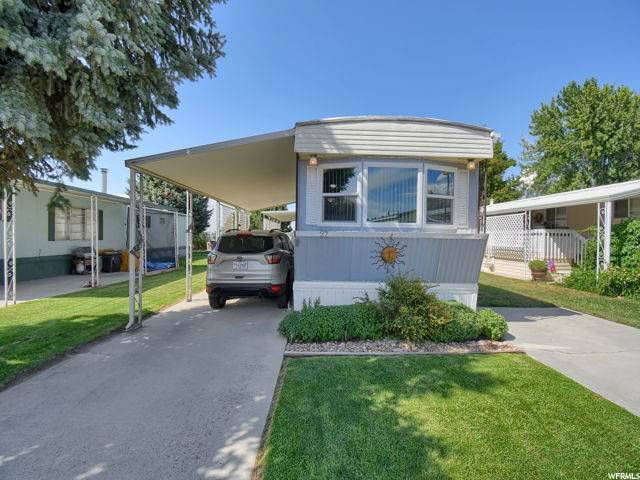 3800 S 1900 W #27, Roy, UT 84067 (#1690467) :: Big Key Real Estate