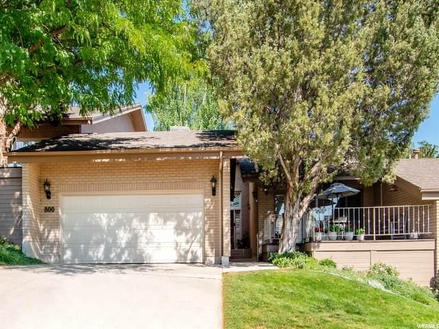 800 N Juniperpoint Dr E, Salt Lake City, UT 84103 (#1690842) :: Powder Mountain Realty