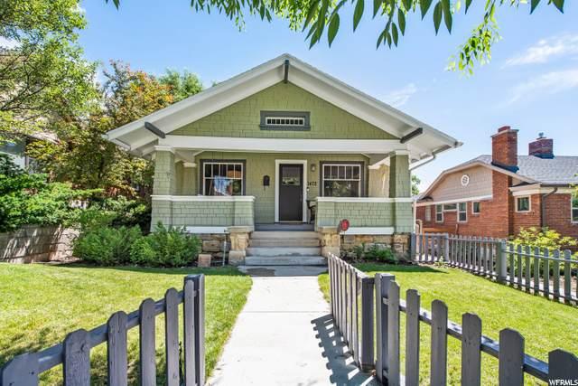 1472 E Sherman Ave S, Salt Lake City, UT 84105 (#1692202) :: Exit Realty Success