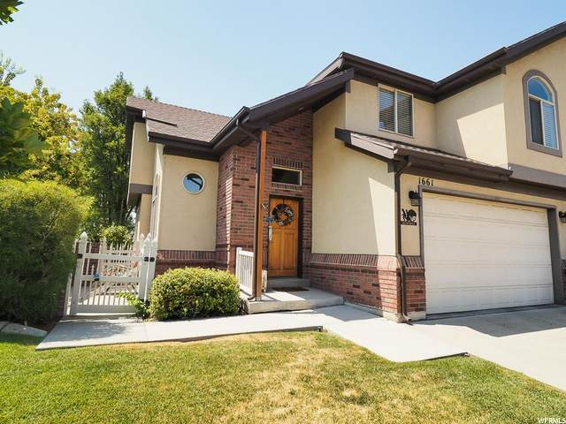 1661 N Pages Place Dr W, Bountiful, UT 84010 (#1692415) :: REALTY ONE GROUP ARETE