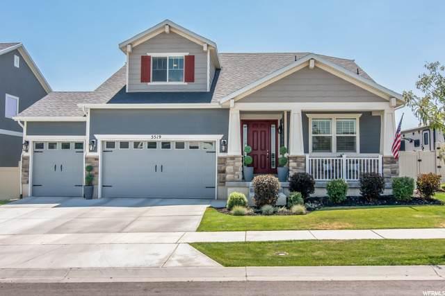 5519 W Turret Arch Ln W, Herriman, UT 84096 (#1692604) :: Big Key Real Estate